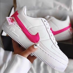 CUSTOM AF1 JESTER: touch of pink 🌸